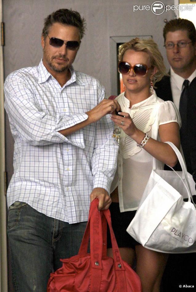 Britney Spears et Jason Trawick, son boyfriend