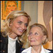 Sarah Marshall et sa soeur Déborah débordent de tendresse pour... leur grand-mère Michèle Morgan !