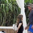 Exclusif - La famille Beckham en vacances dans la région des Pouilles en Italie.