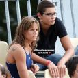 Laure Manaudou félicite son petit frère Florent Manaudou, qualifié pour les Jeux Olympiques de Tokyo.