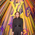 Riley Keough assiste à la soirée de réouverture du magasin Louis Vuitton situé sur Bond Street. Londres, le 23 octobre 2019.