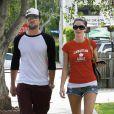 Brody Jenner et sa girlfriend Jayde Nicole, à la sortie de l'Urth Cafe de West Hollywood, à Los Angeles, le 28 octobre 2009 !