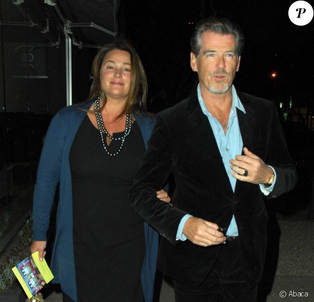 Pierce Brosnan et sa femme Kelly Shaye-Smith (28 octobre 2009, Los Angeles)