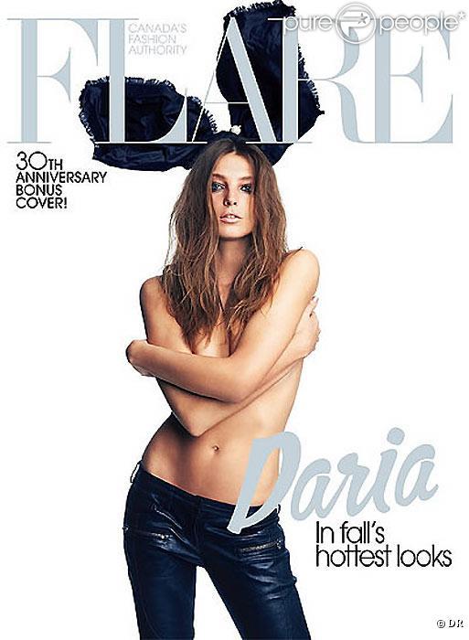 Daria Werbowy, l'un des plus beaux tops du monde !