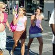 Britney Spears et sa soeur Jamie Lynn à Malibu en 2005.
