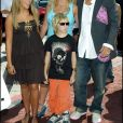 Britney Spears, son compagnon Kevin Federline et sa soeur Jamie Lynn à Hollywood en 2005.