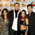 Monica Cruz, Pablo Puyol, Beatriz Luengo et Miguel Angel Munoz aux TV Golden Awards. Madrid.