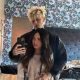 Megan Fox et Machine Gun Kelly en février 2021.