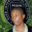 Pharrell Williams assiste à l'inauguration du Goodtime Hotel à Miami. Le 16 avril 2021.