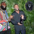 Rick Ross et Dave Grutman assiste à l'inauguration du Goodtime Hotel à Miami. Le 16 avril 2021.