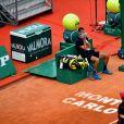 Benoît Paire lors du tournoi de tennis Rolex Monte Carlo Masters 2021 le 11 avril 2021. © Antoine Couvercelle / Panoramic / Bestimage