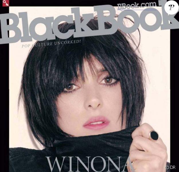 Winona ryder en couverture de Blackbook !