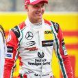 Mick Schumacher au grand prix de Formule 1 à Spa-Francorchamps, Grand Prix de Belgique le 27 Août 2017.