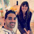 Christophe Licata et Laetitia Milot sur Instagram. Le 16 avril 2021.