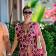 Mark Wahlberg et sa femme Rhea Durham en vacances à La Barbade le 27 décembre 2018.