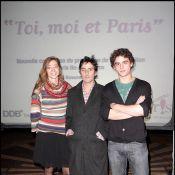 Quand Yvan Attal soutient la promotion de la région parisienne... il donne de sa personne !