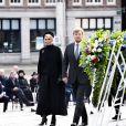 Le roi Willem Alexander et la reine Maxima des Pays-Bas lors de la cérémonie de commémoration pour les victimes de la Seconde Guerre Mondiale sur la place du Dam à Amsterdam, le 4 mai 2021.