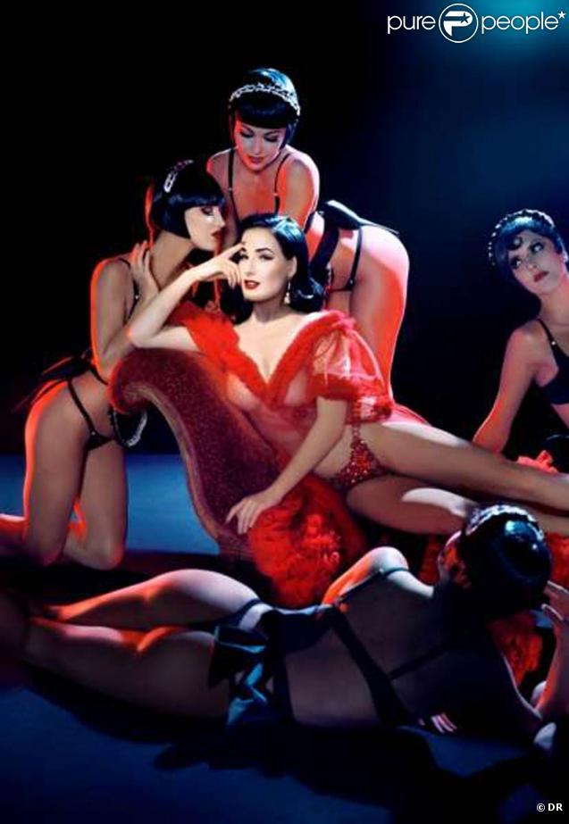 Dita von Teese irradie le Crazy Horse de Paris !