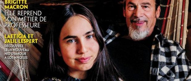 Florent Pagny présente sa fille Ael et fait des confidences