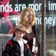 Lisa Kudrow et son fils Julian à Beverly Hills