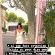 """Cécile de """"Mariés au premier regard 2021"""" fait des révélations sur son mariage, en story Instagram, le 12 mai"""