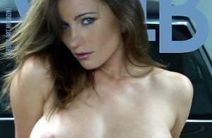 Kyla Cole : Des yeux magnifiques bleus, mais difficile à fixer... elle est nue !