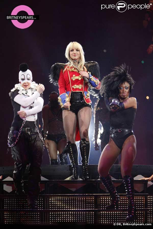 Britney Spears en concert à Perth, en Australie