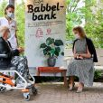 La reine Mathilde de Belgique en visite sur le campus de l'hôpital Jessa à Hasselt. Le couple royal a rencontré les membres de l'équipe d'encadrement et a discuté de leur rôle dans la lutte contre le Coronavirus (COVID-19). Ils ont également parlé avec les membres hospitaliers de différents services. Le 18 mai 2021