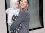 La pétillante Anne Heche a retrouvé son blond naturel et... son adorable bout d'chou !