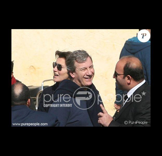 Cécilia Ciganer-Albéniz et Richard Attias à Fès au Maroc