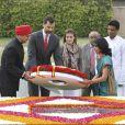 Letizia et Felipe d'Espagne en visite officielle en Inde le 11/11/09