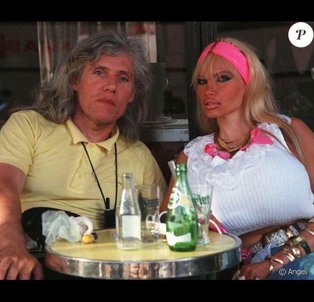Lolo Ferrari et son mari, Eric Vigne