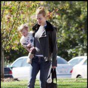 Nicole Kidman : Avec sa jolie poupée Sunday Rose... adieu les robes serrées ! Elle se lâche...