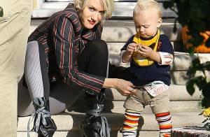 Gwen Stefani : Avec ses adorables gamins et son chéri... elle oublie ses soucis !