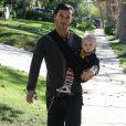 Gavin Rossdale et ses fistons à Los Angeles le 15/11/09