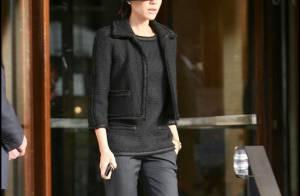 Victoria Beckham : Quand elle va au boulot, c'est toujours ultra lookée et... en VIP !