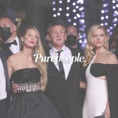 Cannes 2021 : Sean Penn en famille, Mélanie Laurent renversante au bras de Tahar Rahim