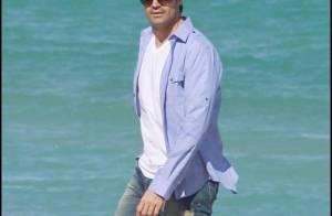 Gilles Marini : Le beau frenchy fait des ravages... sur la plage !