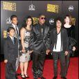Jermaine Jackson en famille