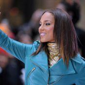 La très lookée Alicia Keys... a enflammé le Rockefeller Center !