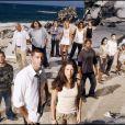 Evangeline Lilly et le casting de la série Lost