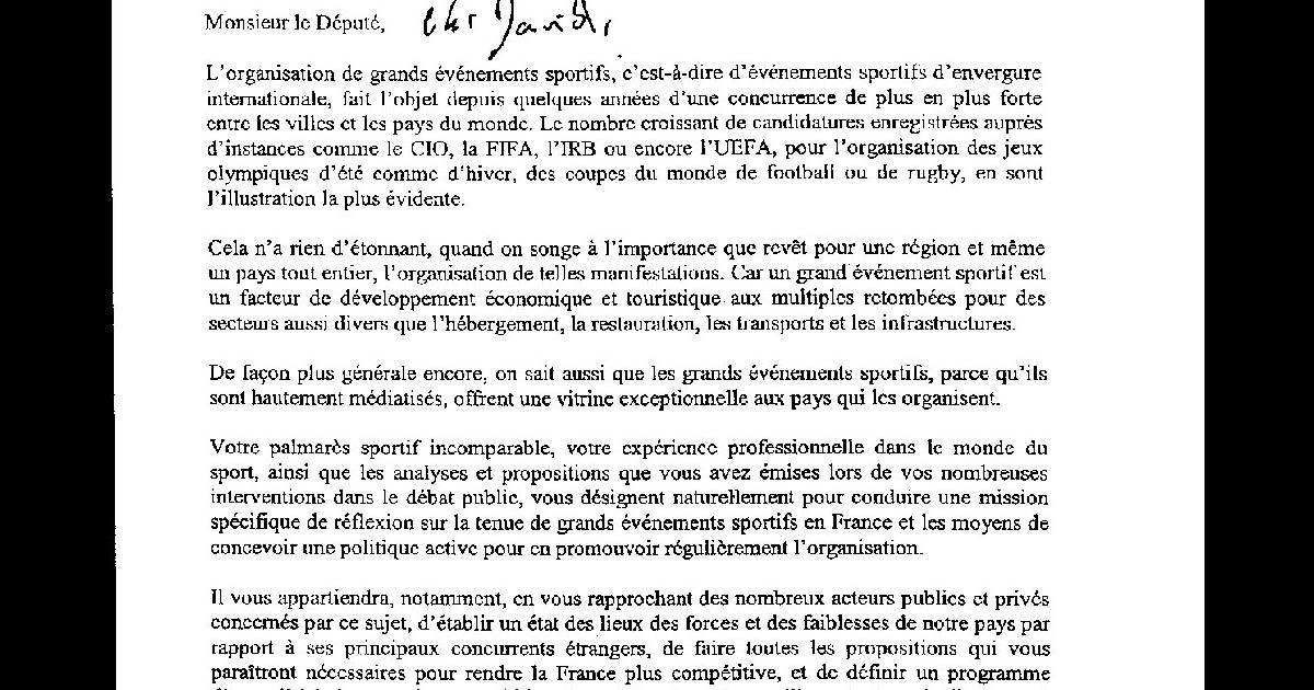 Lettre De Nicolas Sarkozy à Son Copain David Purepeople