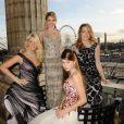 Lady Kitty Spencer, Angelica Hicks, Georgina Roberston et Carinthia Pearson toutes venues de Grande-Bretagne, sont enfin prêtes pour leur Bal des Débutantes...