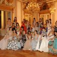 Les 24 jeunes filles du Bal des Débutantes 2009 sont prêtes... Elles attendent le grand soir dans leurs robes sublimes et leurs bijoux de la maison suisse Adler...