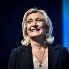 Marine Le Pen lors du congrès du Rassemblement National (RN) à Perpignan, France, le 4 juillet 2021. © Thierry Breton/Panoramic/Bestimage