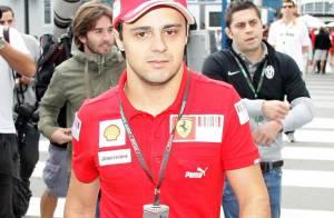 Le miraculé pilote de Formule 1 Felipe Massa... est un heureux papa !