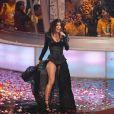 Fergie et les Black Eyed Peas, à l'occasion du Goliath Music Festival donné dans le cadre du Téléthon mexicain, à Mexico, dans la nuit du 4 au 5 décembre.