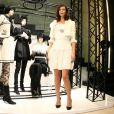 Anna Mouglalis à la boutique Chanel de Tokyo