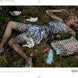 Lara Stone dans la nouvelle campagne Louis Vuitton