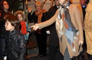 Céline Dion et son fils René-Charles avec une vraie coupe de garçon... s'offrent une belle soirée !